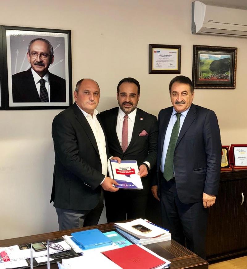 Baykal, Belediye Başkan Aday Adaylığını resmileştirdi
