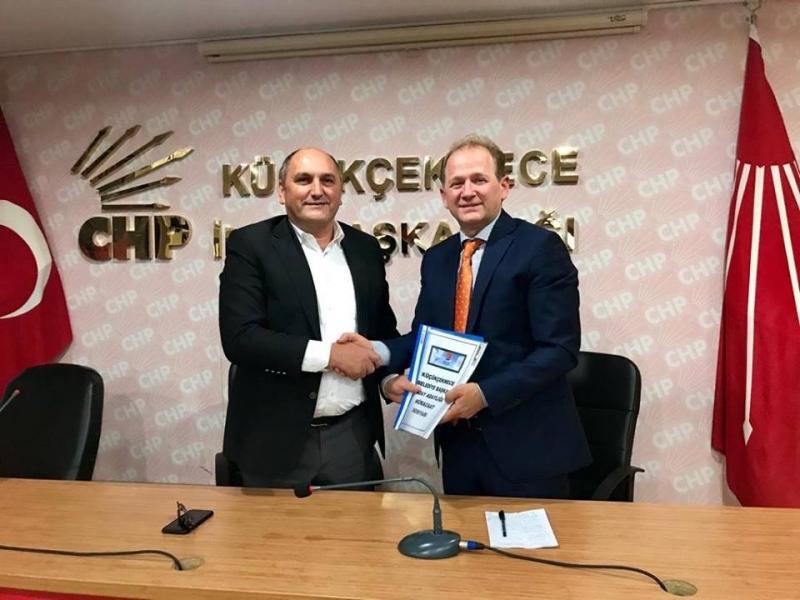 Gökhan Gümüşdağ CHP Küçükçekmece İlçe Başkanlığımıza Belediye Başkan Aday Adaylığı için başvurusunu yaptı