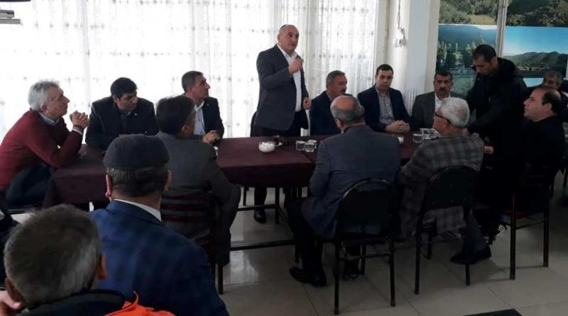 Özcan'dan Bitlislilere ziyaret